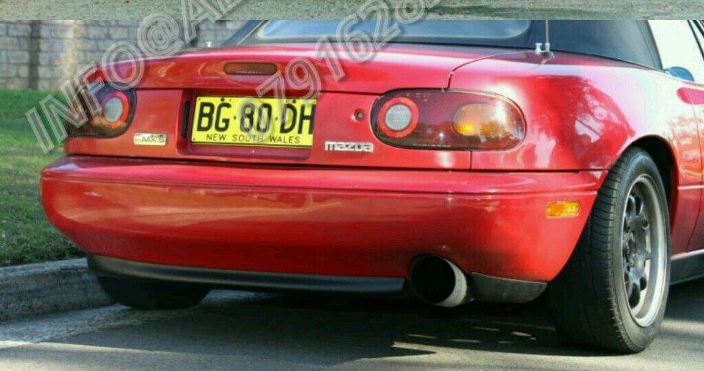 Aero D Autos Mazda Mx5 90 98 Mk1 Rear Lower Spoiler