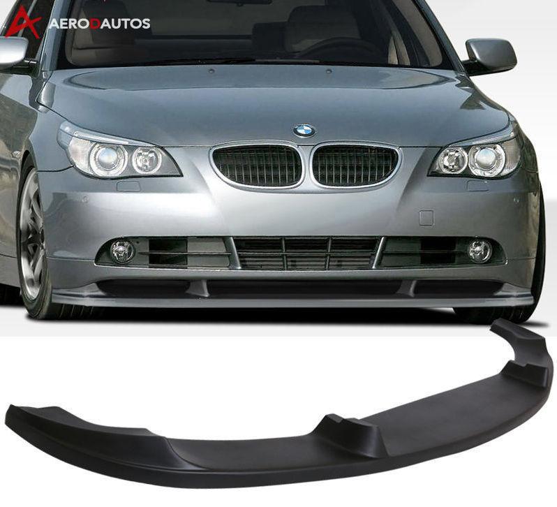 aero  autos bmw   series se   front bumper lip splitter spoiler  style